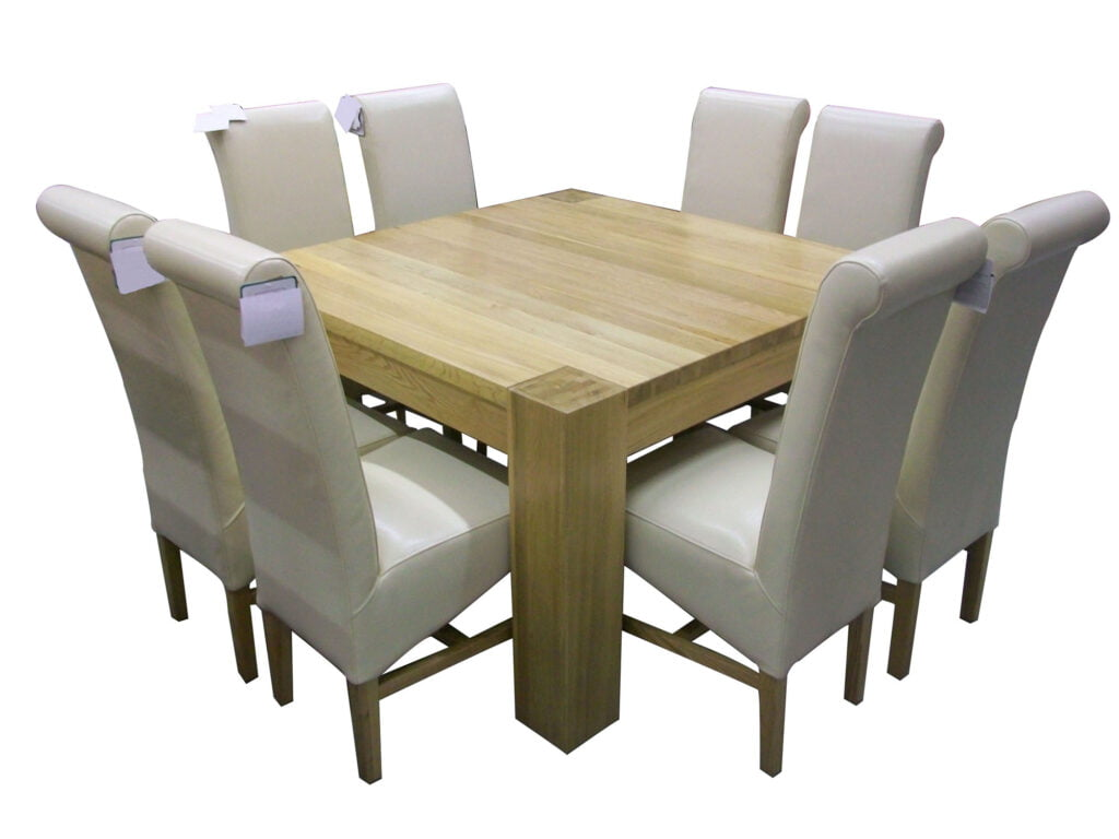 square dining room tables for 8 | 5 Common Design Flaws in Dining Tables... - Mabarrack ...