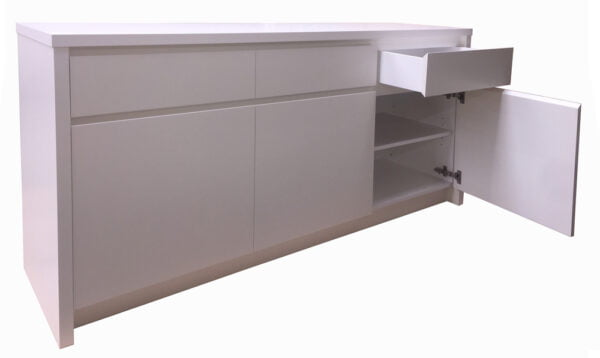 Ruby Painted Buffet